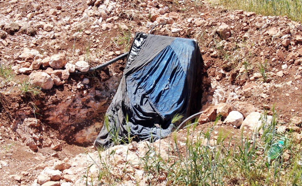 Diyarbakır da kaçak kullanımı tespit için havalanan drone u taşladılar #2