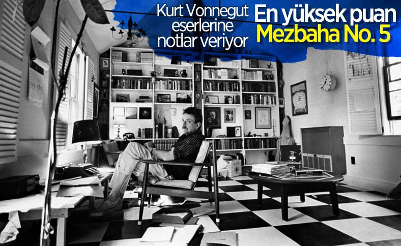 Kurt Vonnegut'un kitaplarına verdiği puanlar
