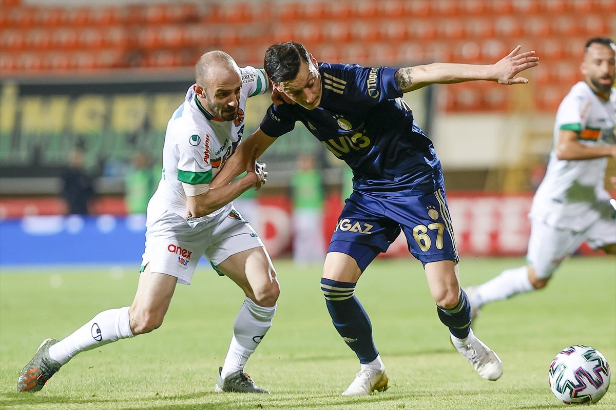 Fenerbahçe, deplasmanda Alanyaspor la golsüz berabere kaldı #7