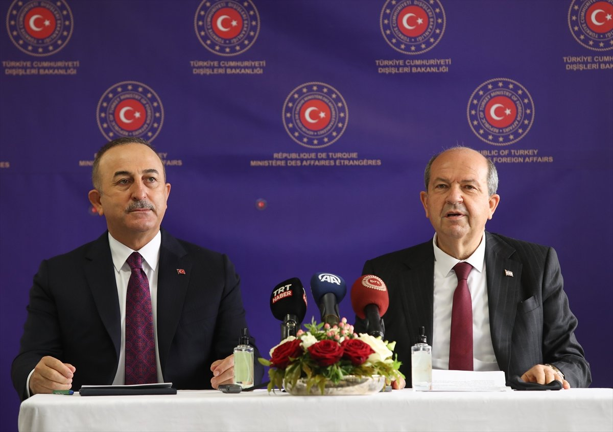 Ersin Tatar ve Mevlüt Çavuşoğlu ndan ortak açıklama #5