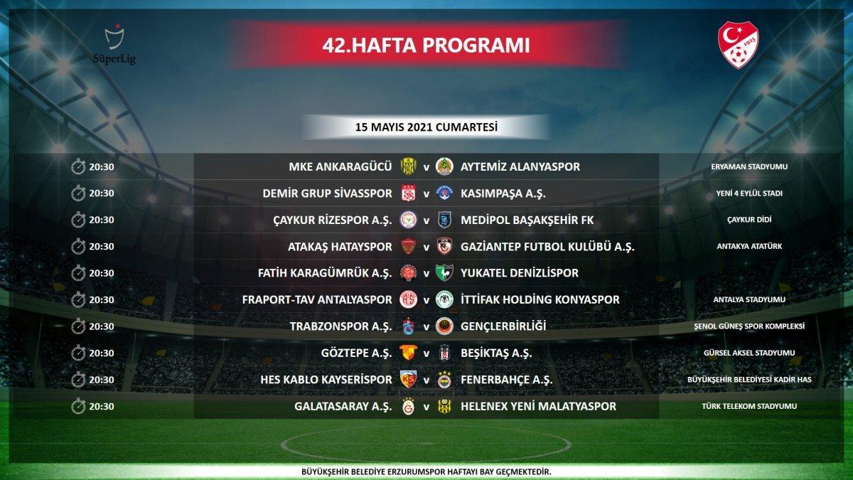 TFF: 40,41 ve 42. haftadaki maçlar aynı gün aynı saatte oynanacak #3