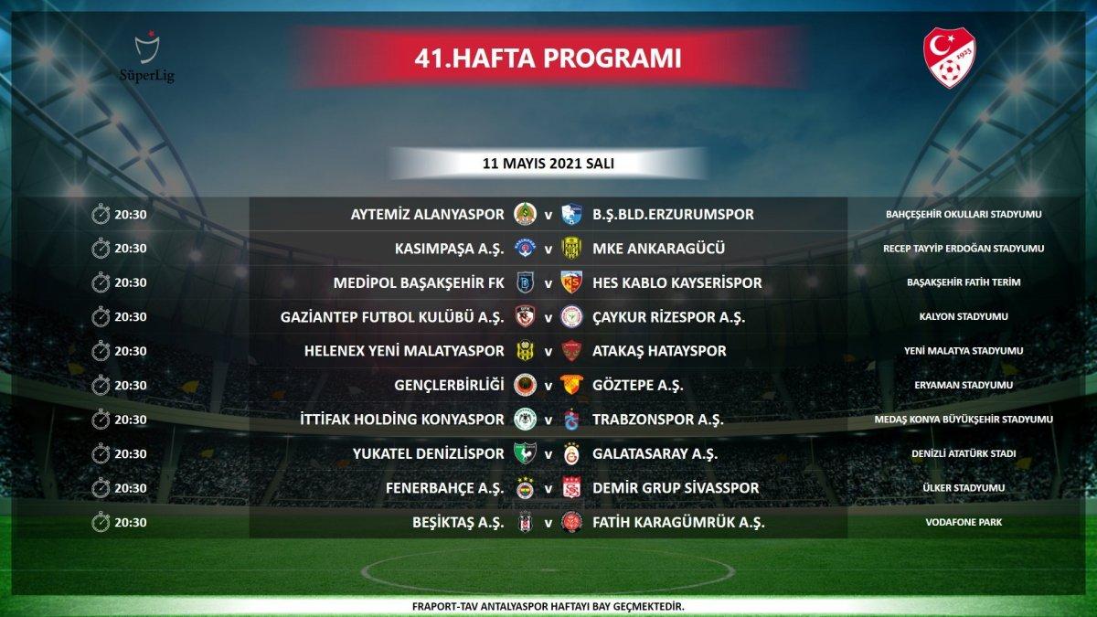 TFF: 40,41 ve 42. haftadaki maçlar aynı gün aynı saatte oynanacak #2