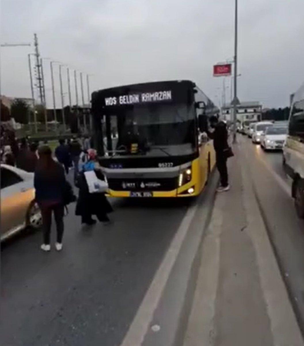 İBB nin toplu ulaşım yetersizliği #1