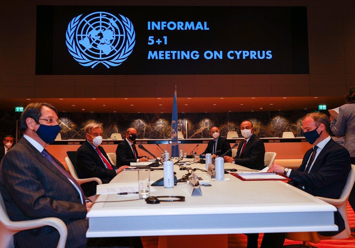 Ersin Tatar ve Mevlüt Çavuşoğlu ndan ortak açıklama #2