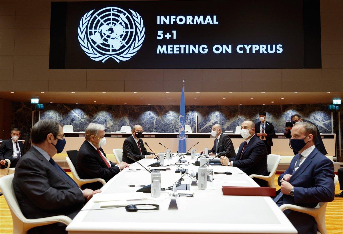Ersin Tatar ve Mevlüt Çavuşoğlu ndan ortak açıklama #4