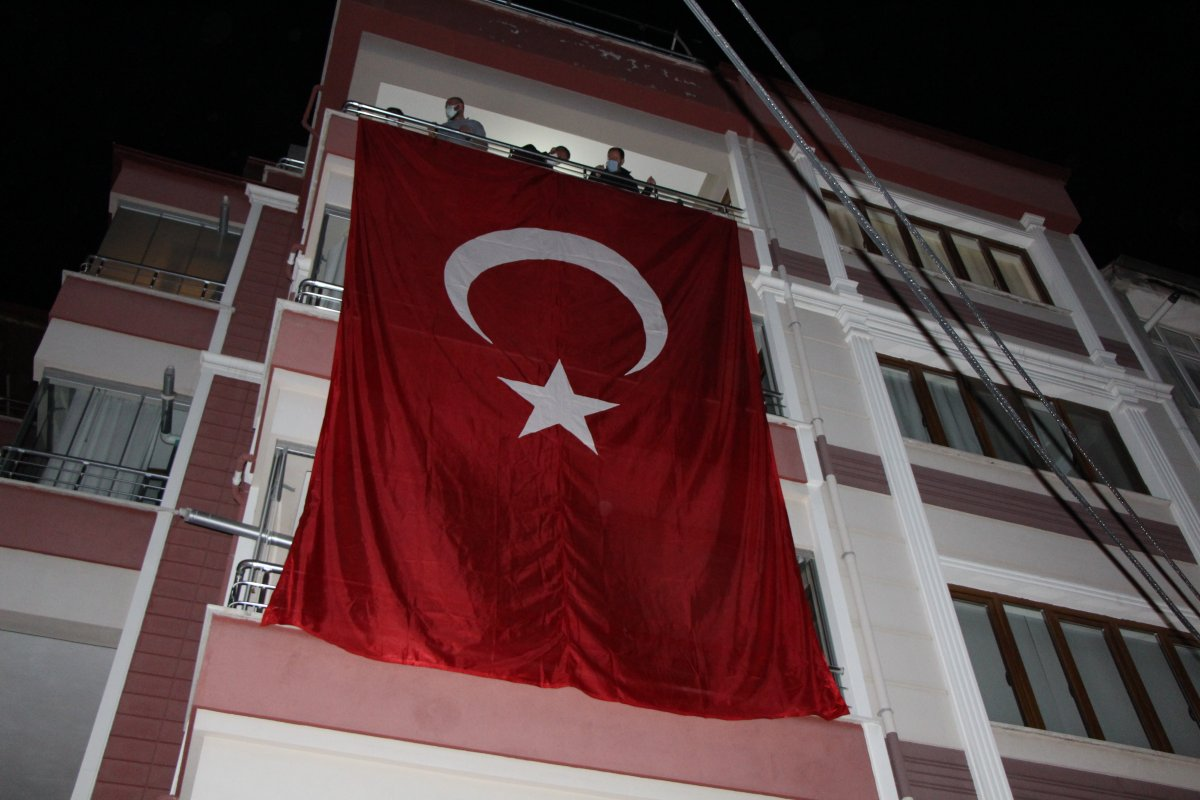 Şehit ateşi Amasya'ya düştü #1