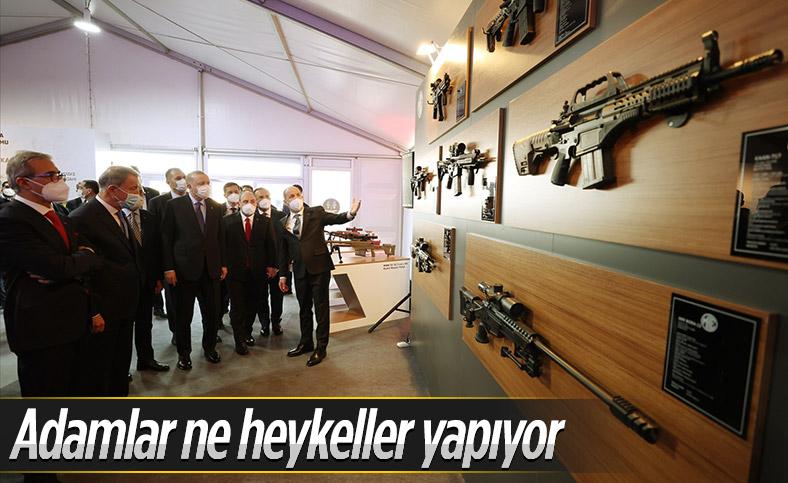 Cumhurbaşkanı Erdoğan, Barutsan Roket ve Patlayıcı Fabrikası'nın üretim tesisi açılışına katıldı