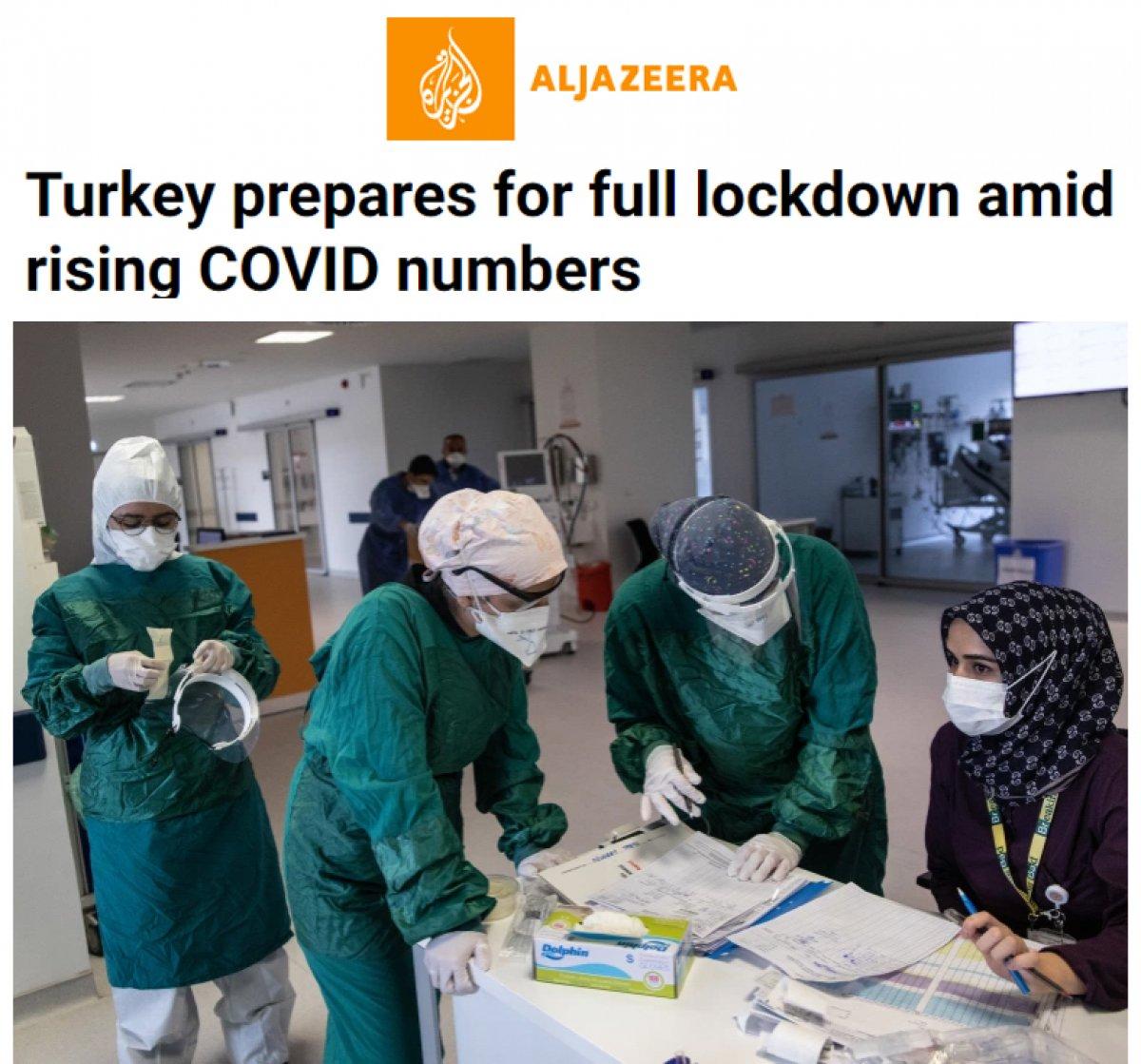 Türkiye nin tam kapanması dünya basınında #4