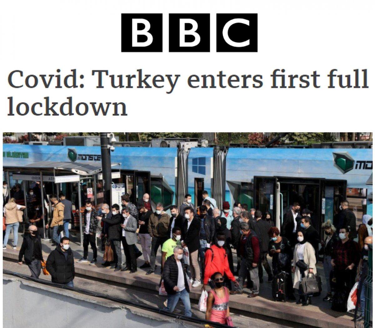 Türkiye nin tam kapanması dünya basınında #2