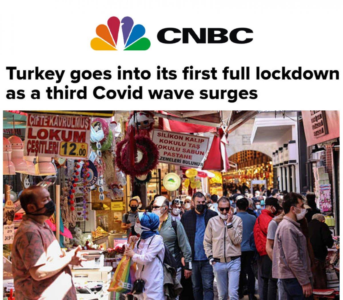 Türkiye nin tam kapanması dünya basınında #3