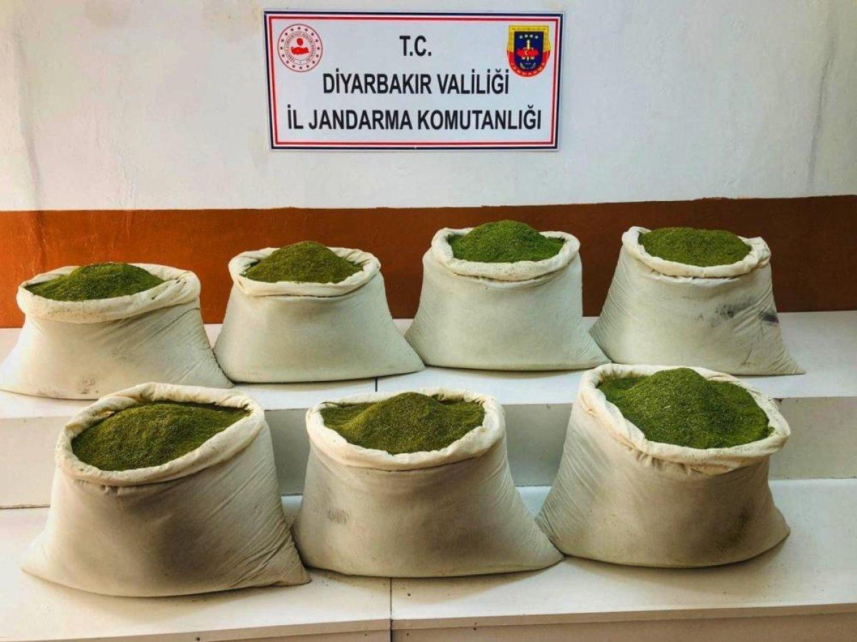 Süleyman Soylu: Lice de 221 kilogram toz esrar ele geçirildi #1