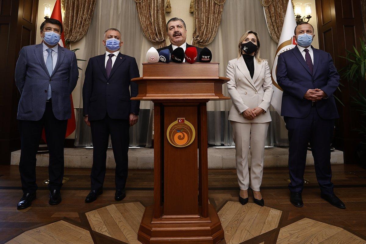 Fahrettin Koca: Tam kapanma zaruret haline gelmişti #2