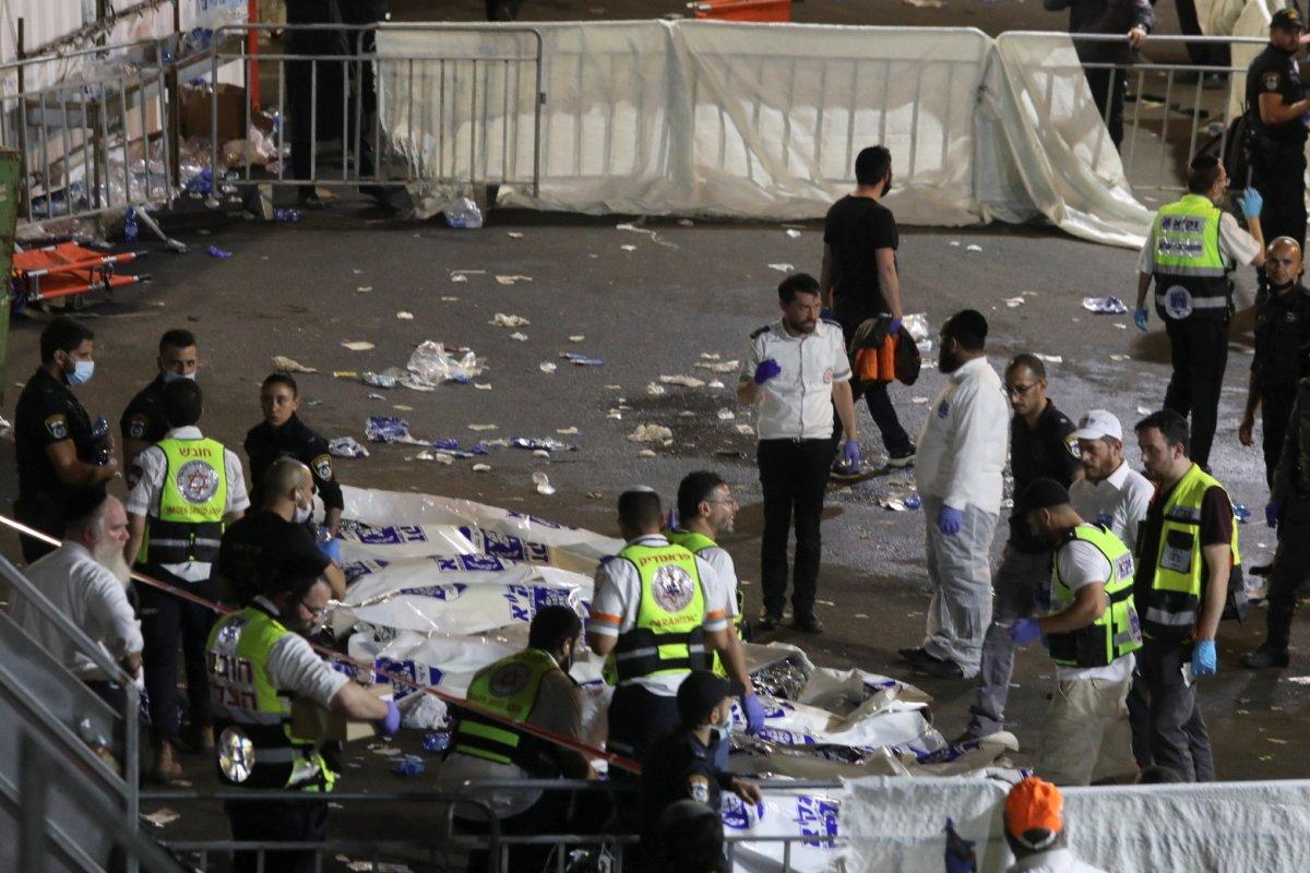 İsrail de Lag BaOmer Bayramı faciaya dönüştü #6
