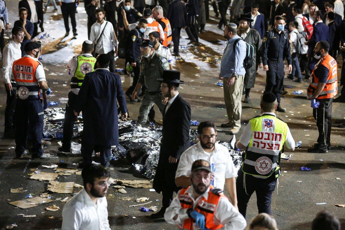 İsrail de Lag BaOmer Bayramı faciaya dönüştü #4