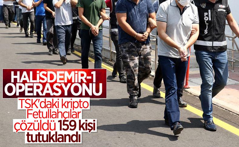 62 il ile KKTC'de FETÖ operasyonu: 159 kişi tutuklandı