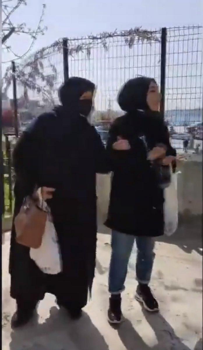 Üsküdar da kadınlar camiye giremez kavgası #1