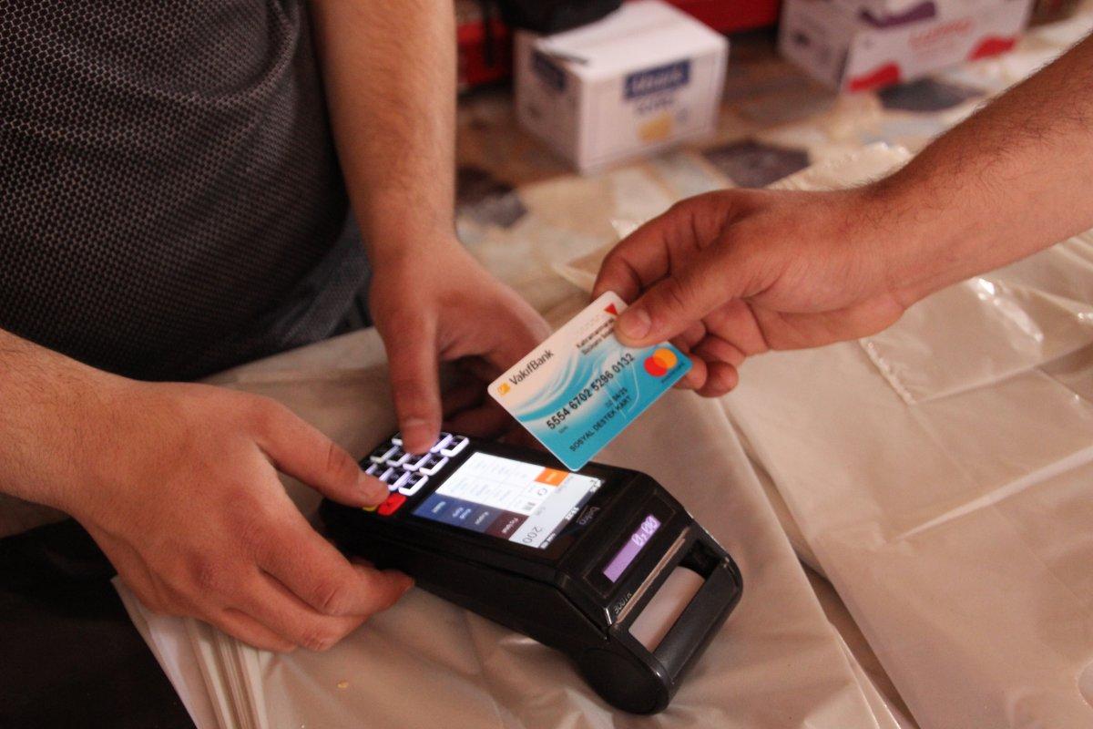 Kahramanmaraş ta 30 bin ihtiyaç sahibine alışveriş kartı #2