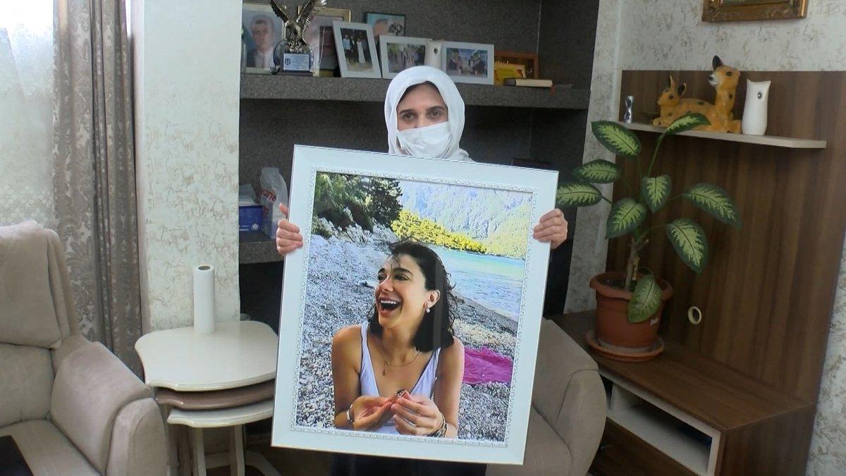 Muğla da öldürülen Pınar Gültekin in annesi konuştu: Kızımın yanık kokusunu alıyorum  #1
