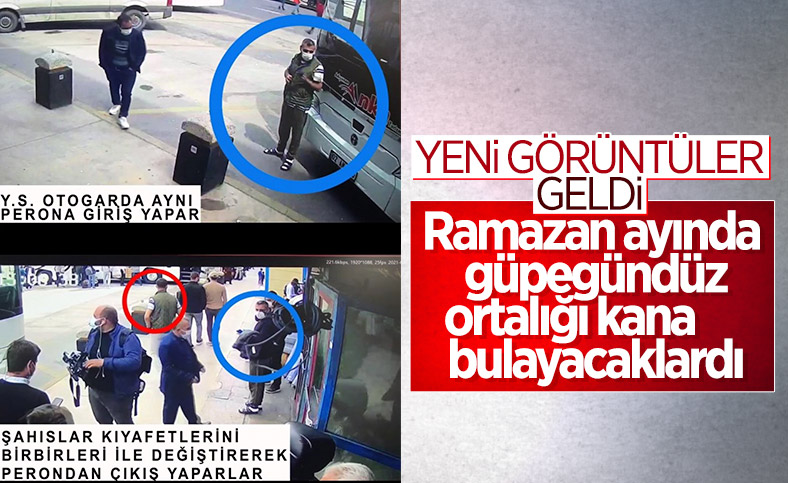 Otogarda yakalanan teröristlerin eylem planı