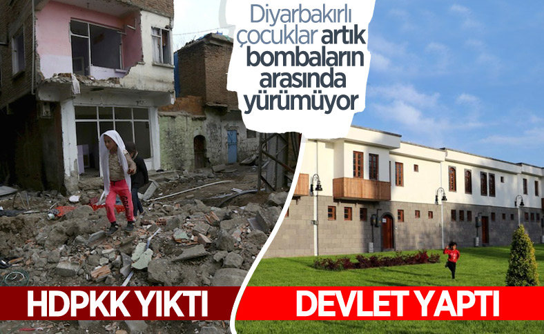 Sur'da yapımı tamamlanan yapılar hak sahiplerine teslim edilecek