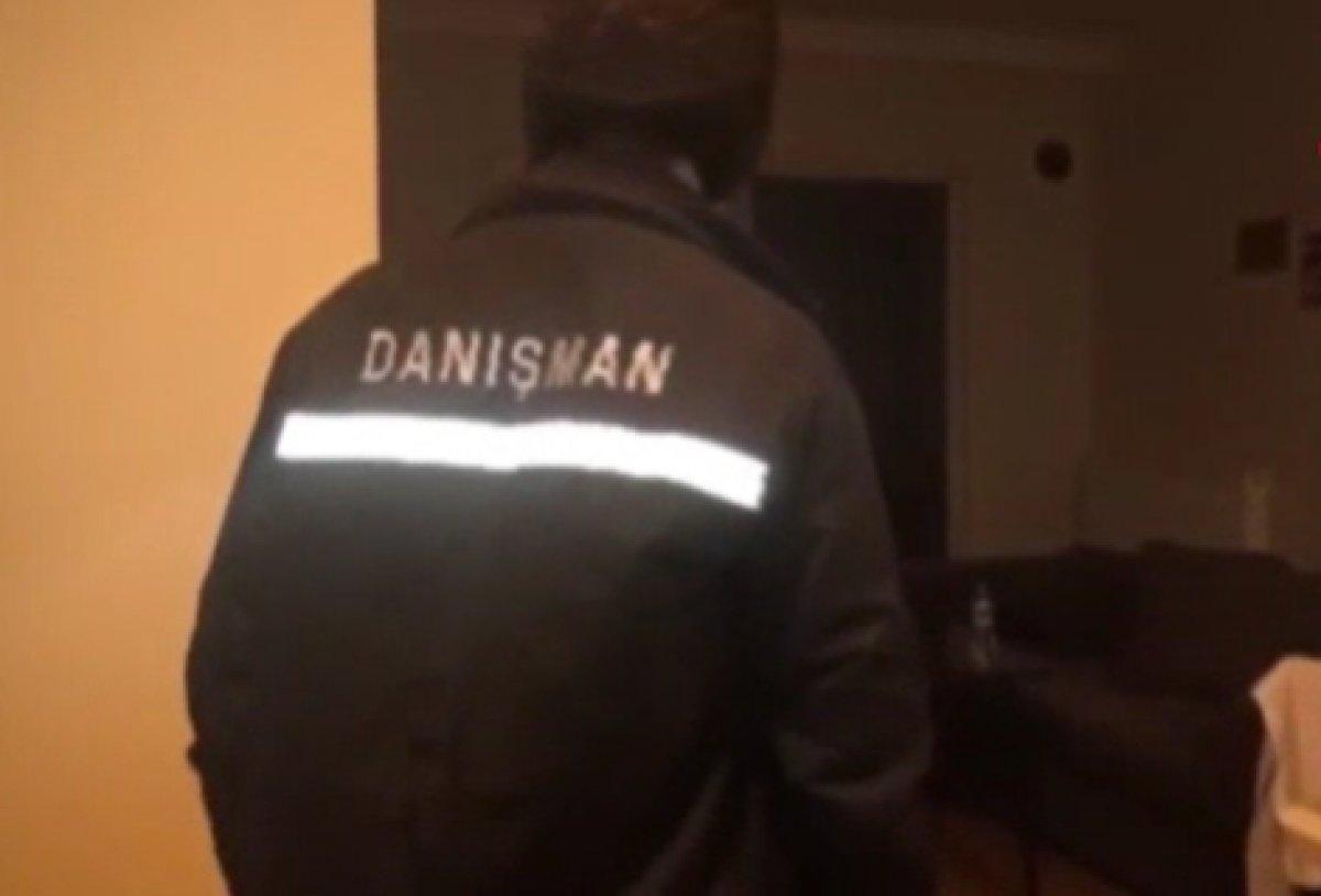 İstanbul da fuhuş operasyonu: 15 gözaltı #1