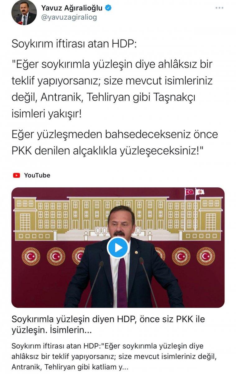 Ali Kenanoğlu, Yavuz Ağıralioğlu na it dedi #1