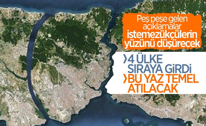 Kanal İstanbul projesinde sona doğru
