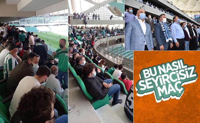 TFF 1. Lig maçlarında kurallara uyulmadı