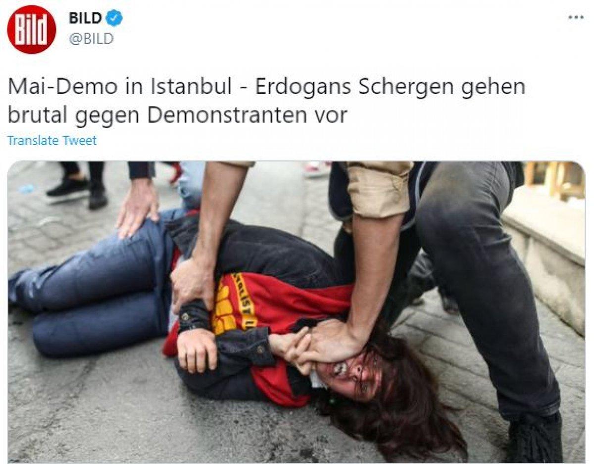 Alman basınının Türk polisi hakkında algı oluşturma çabası #1