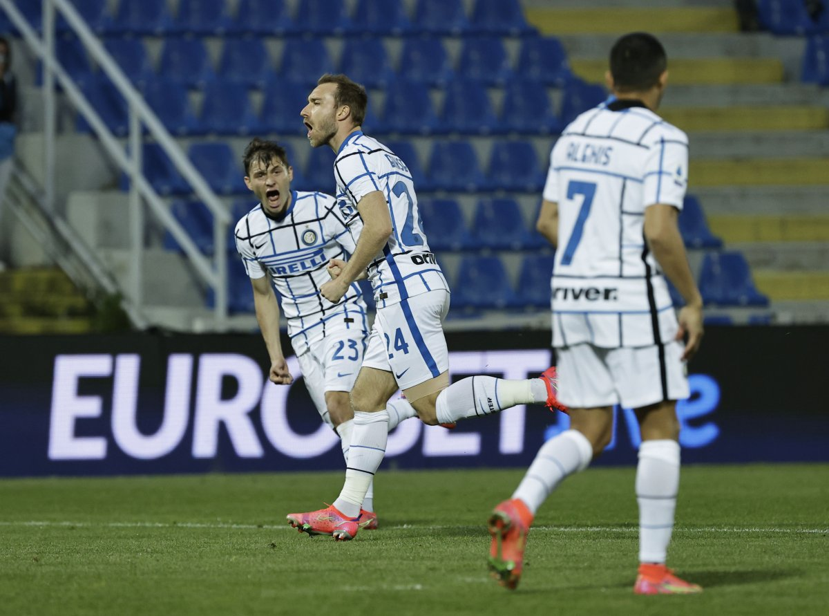 Inter Serie A da şampiyon oldu #1