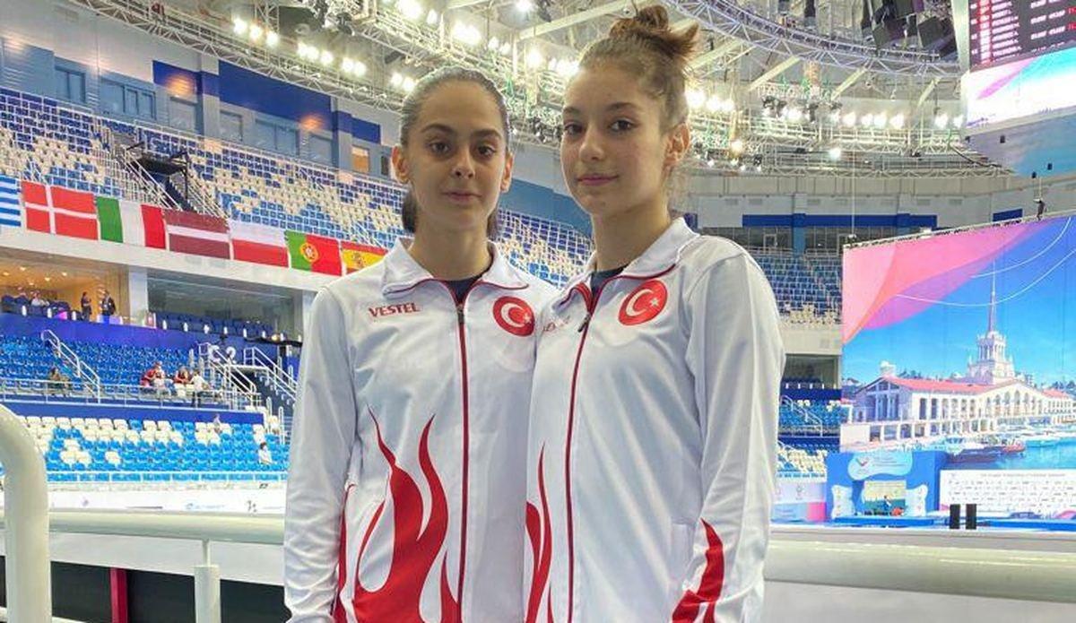 Elif Çolak ve Sıla Karakuş, gümüş madalya kazandı #1