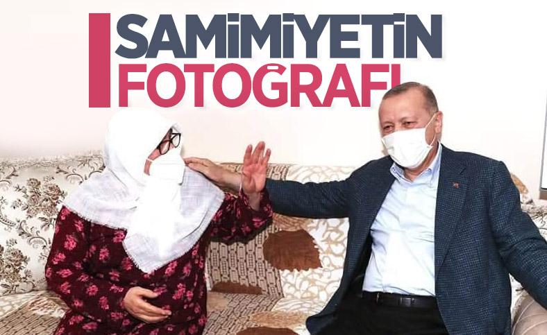 Cumhurbaşkanı Erdoğan, Tuzla'da işçilerle iftar yaptı