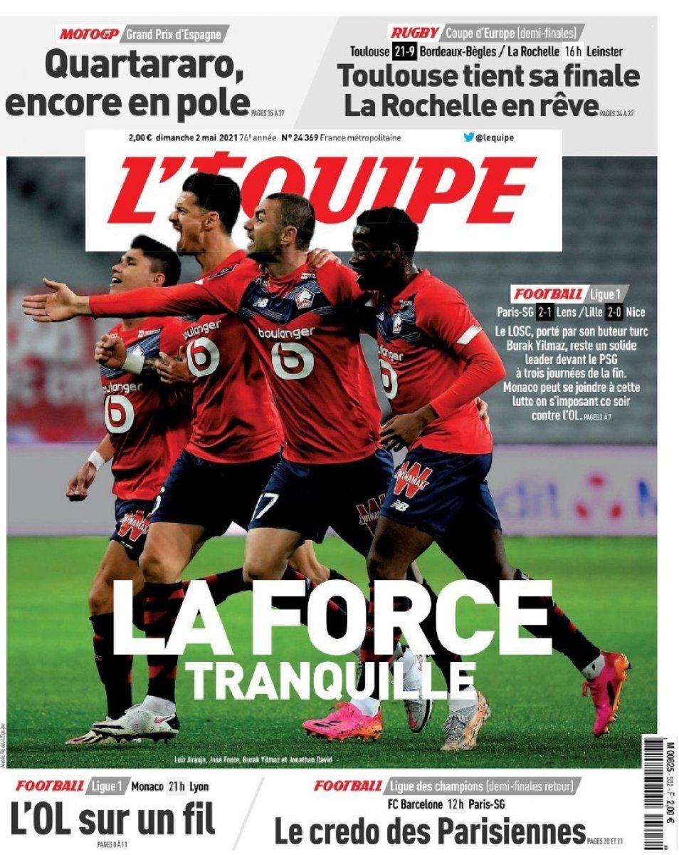Burak Yılmaz ve Zeki Çelik yine Lille i galibiyete taşıdı #9