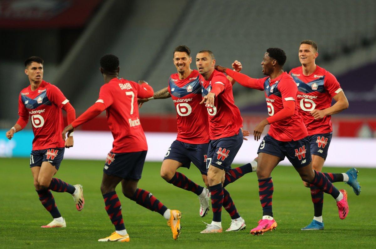 Burak Yılmaz ve Zeki Çelik yine Lille i galibiyete taşıdı #2
