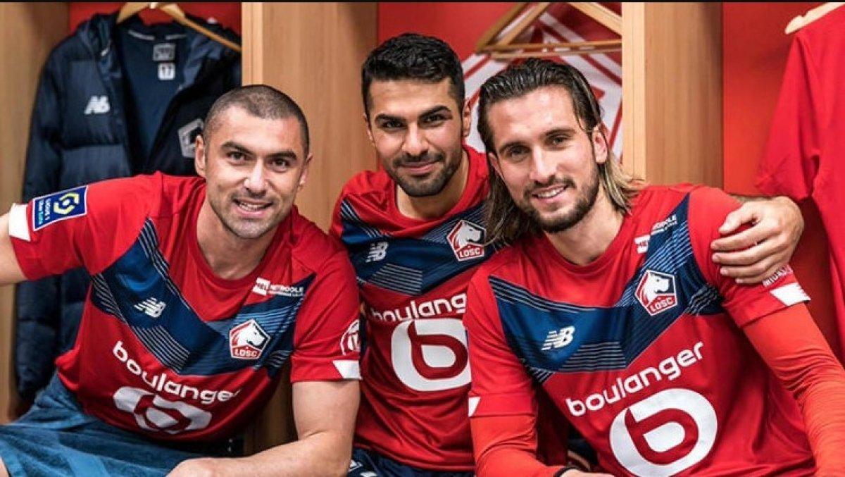 Burak, Yusuf ve Zeki, Lille i şampiyonluğa taşıyor #1