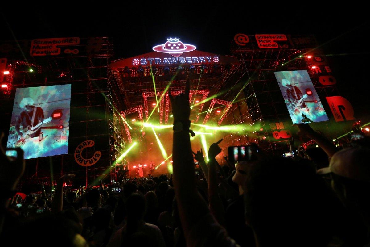 Koronavirüsün çıktığı Vuhan da müzik festivali  #3