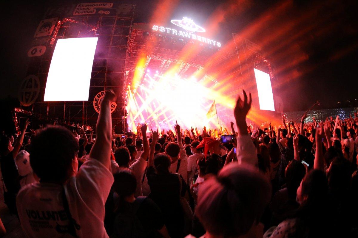 Koronavirüsün çıktığı Vuhan da müzik festivali  #6
