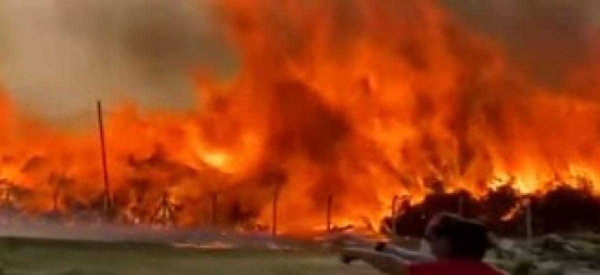Afyonkarahisar daki enerji santralinde yangın #2