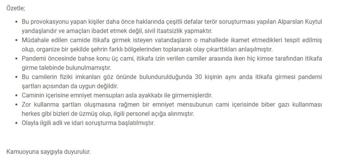 Gaziantep Valiliği: Biber gazı sıkan emniyet mensubu açığa alındı #2