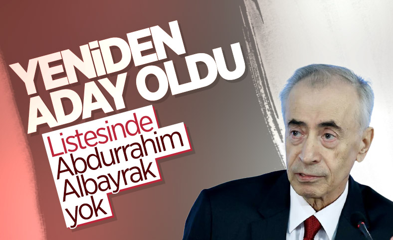 Mustafa Cengiz başkanlığa aday oldu