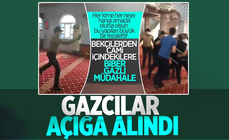 Gaziantep Valiliği: Biber gazı sıkan emniyet mensubu açığa alındı