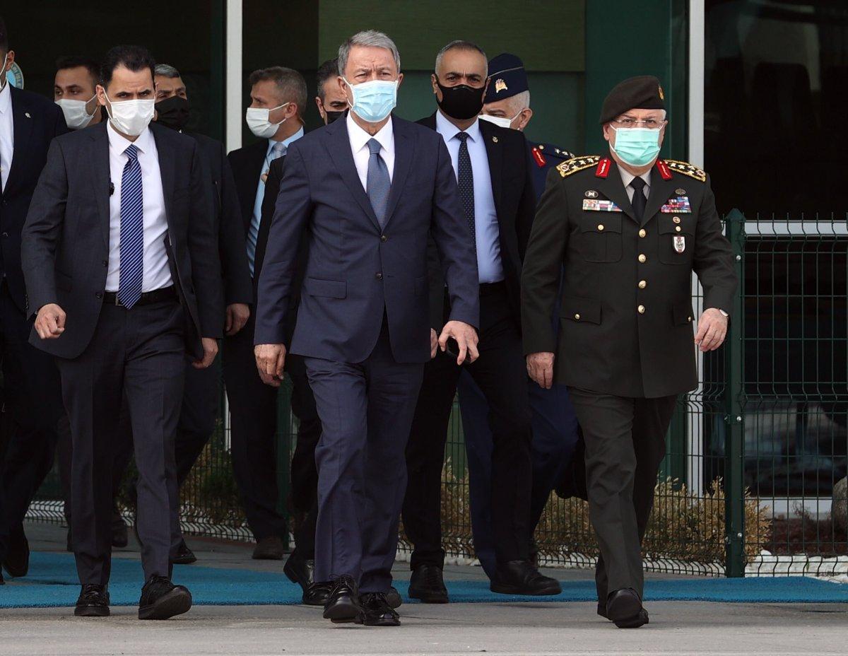 Hulusi Akar ve Mevlüt Çavuşoğlu Libya da #1