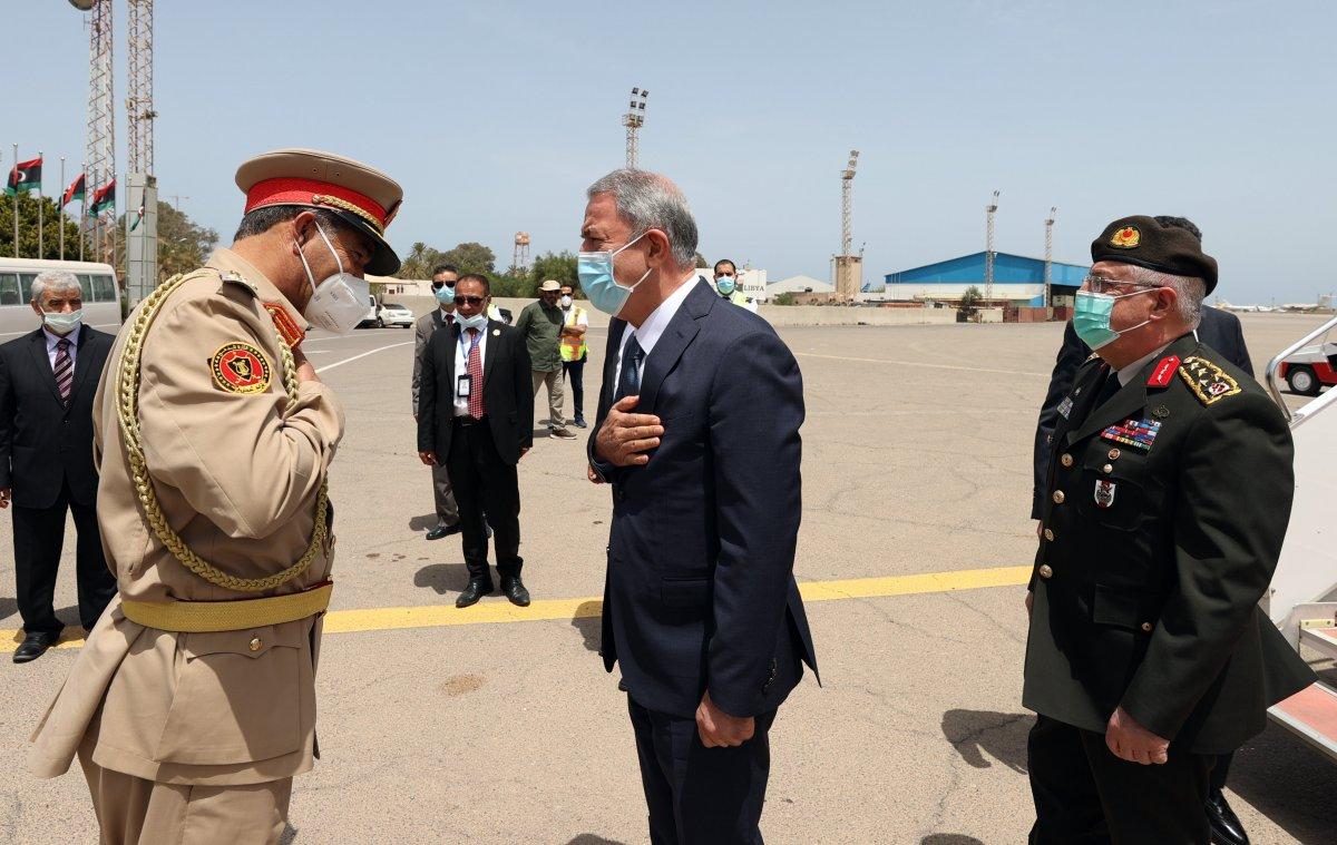 Hulusi Akar ve beraberindeki heyet Libya da #3