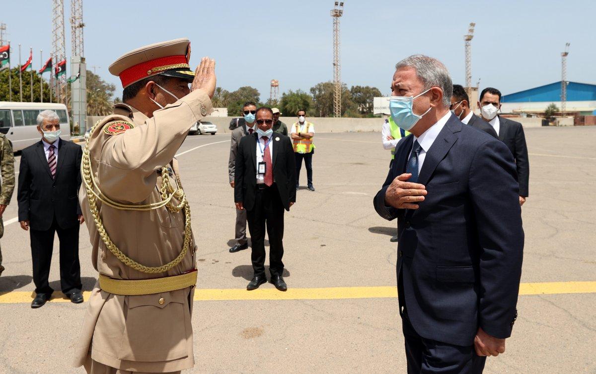 Hulusi Akar ve beraberindeki heyet Libya da #2