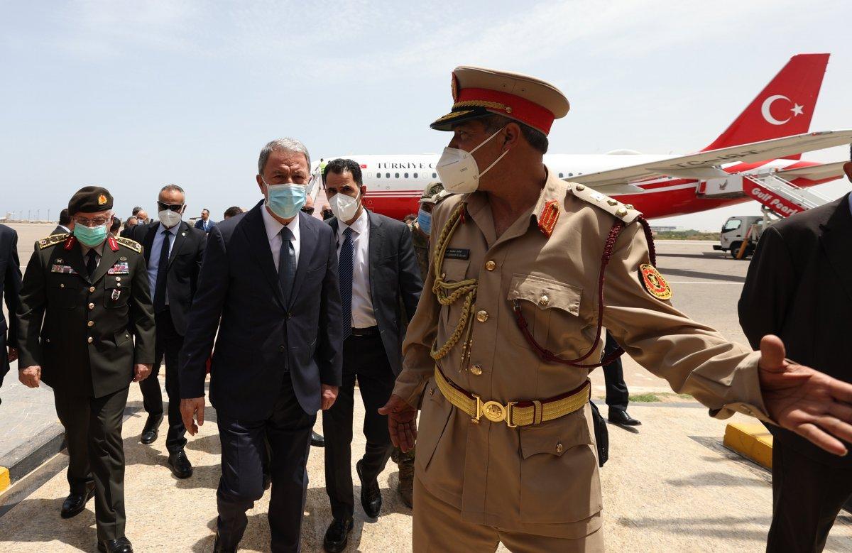Hulusi Akar ve beraberindeki heyet Libya da #5