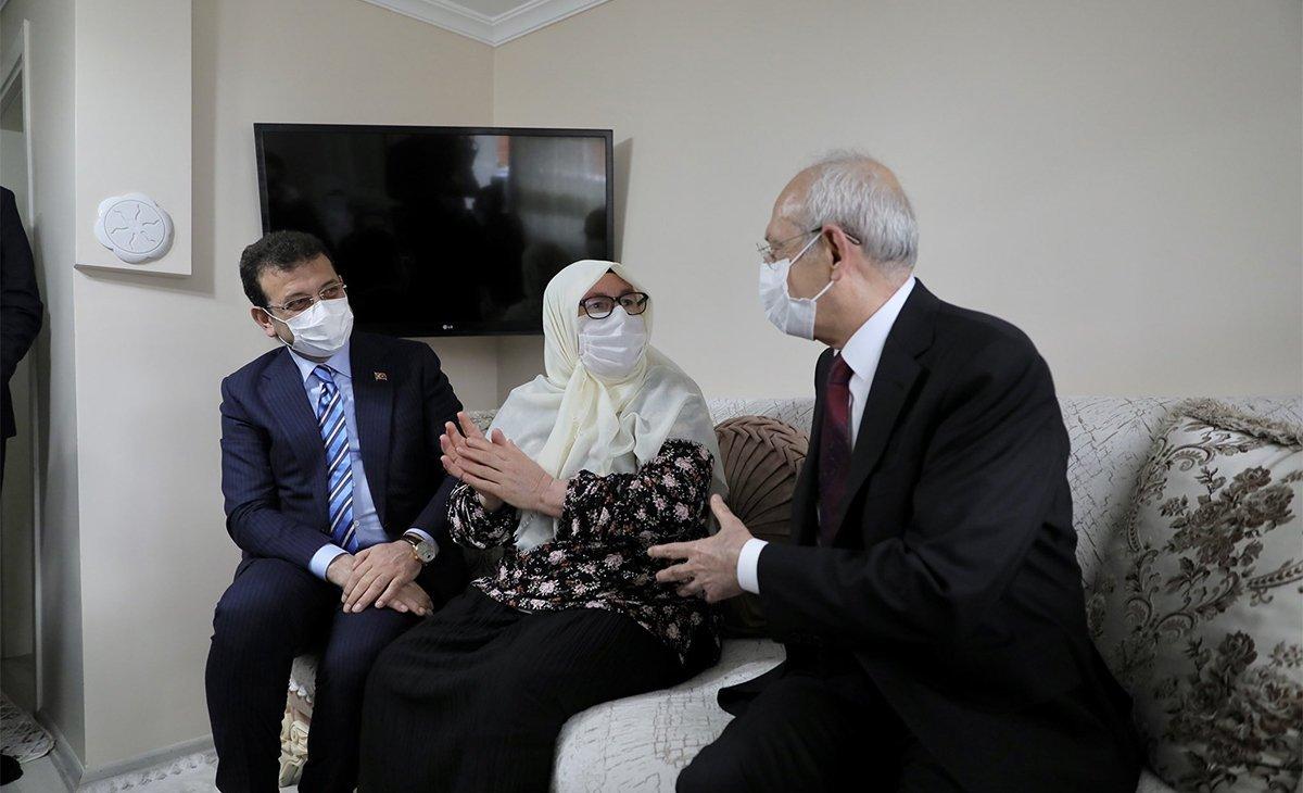 Cumhurbaşkanı Erdoğan ın ziyaret ettiği Mahruze Teyze den açıklamalar  #4