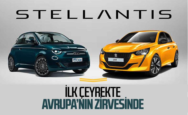 Stellantis, ilk çeyrekte Avrupa'da zirveye yerleşti