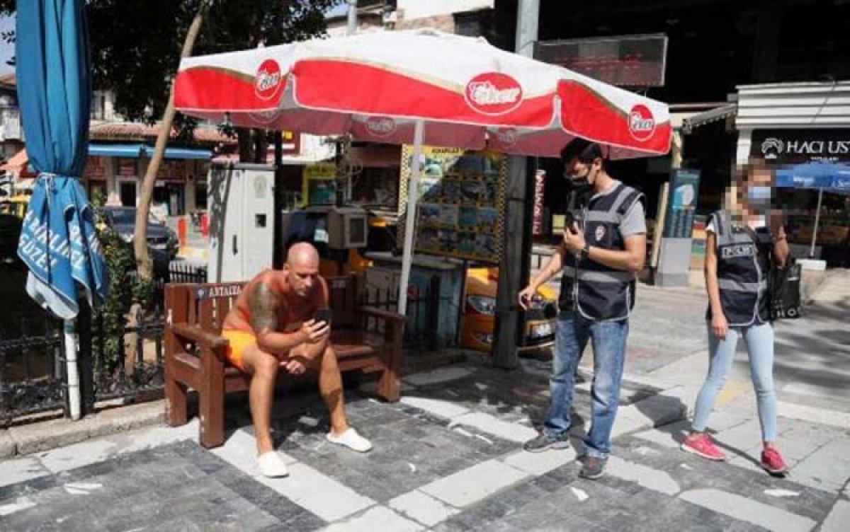 Antalya da turistten kadın polise ahlaksız teklif #2