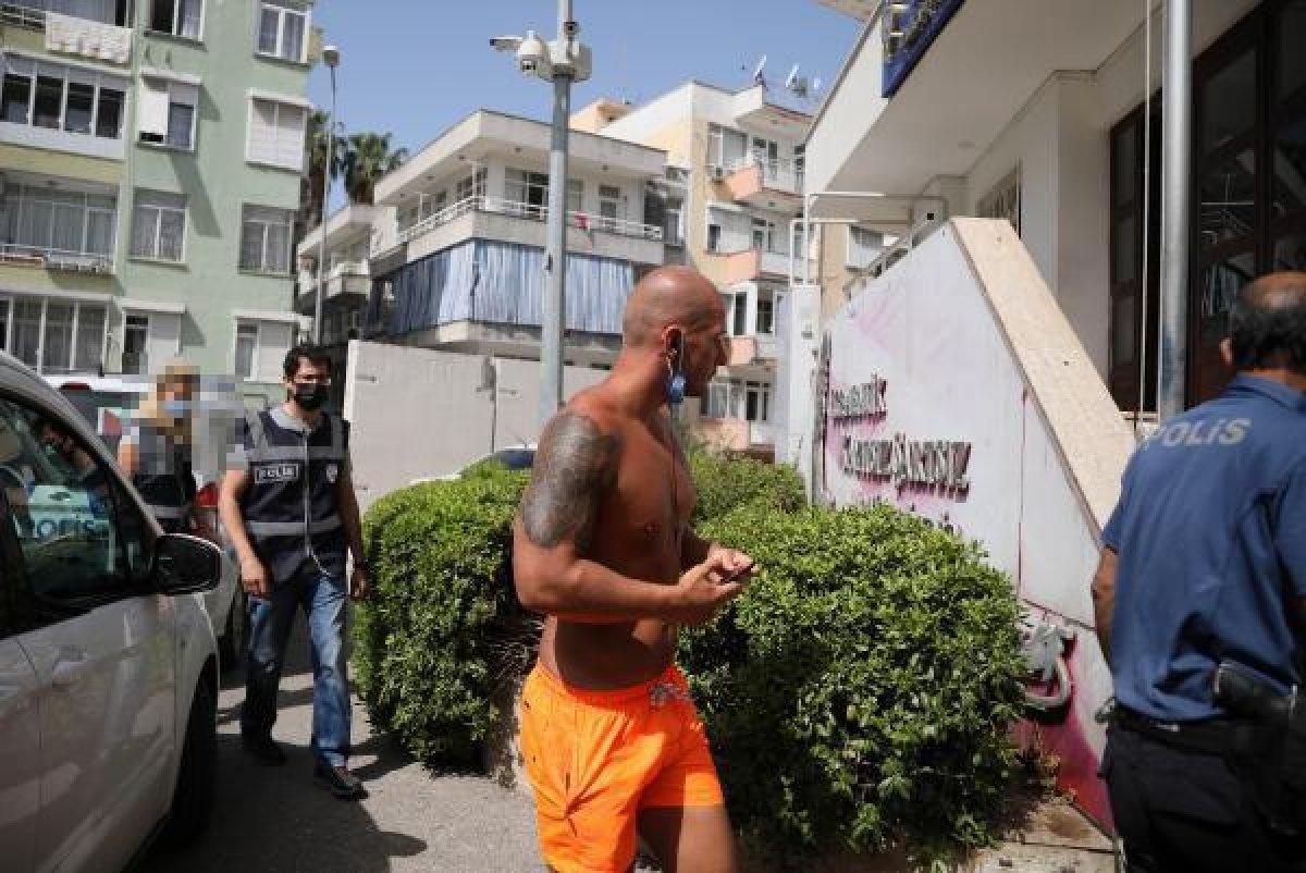 Antalya da turistten kadın polise ahlaksız teklif #4