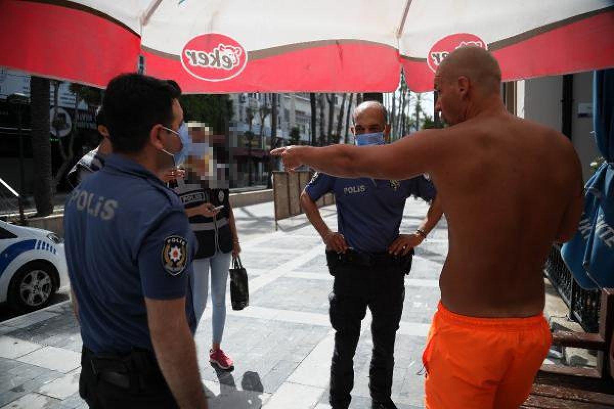 Antalya da turistten kadın polise ahlaksız teklif #3